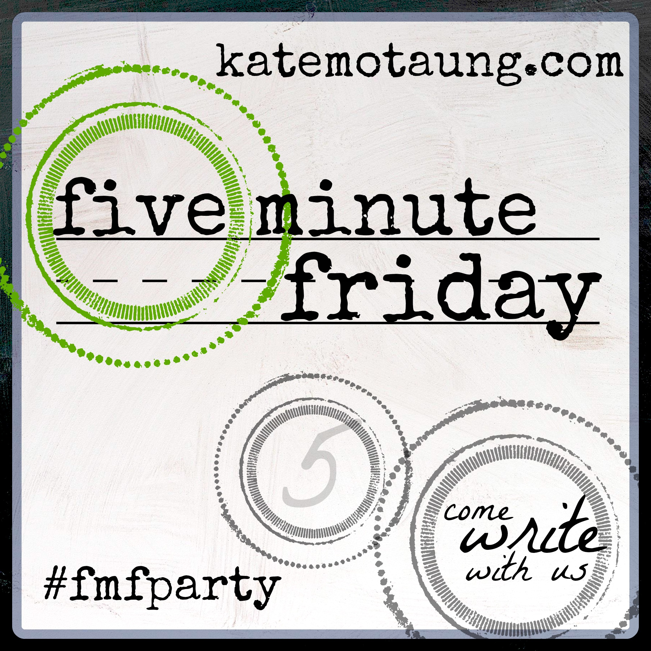 #fiveminutefriday