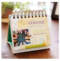 Incourage desk calendar