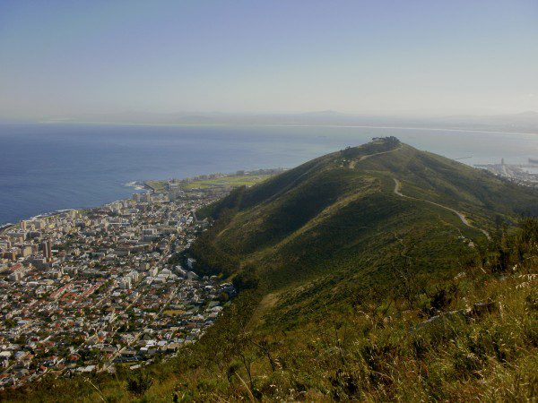 Signal Hill, as seen from Lion's Head