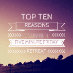 TOP TENREASONS