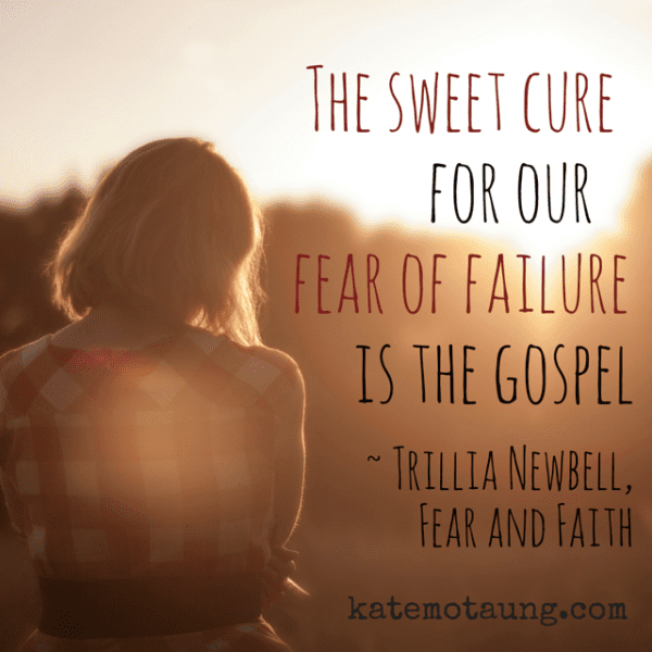 The sweet cure for our fear of failure