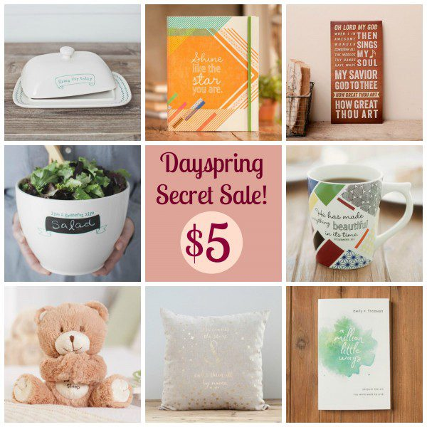 Dayspring Secret Sale 2