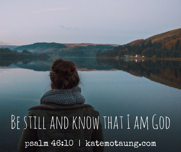 Be still and know that I am God-2
