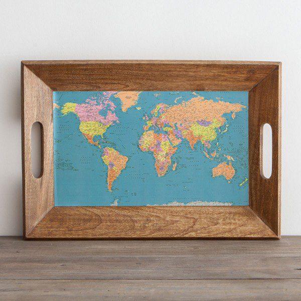 map tray
