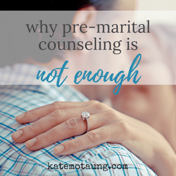 Why Pre-Marital Counseling is