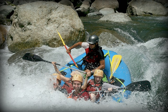 Whitewater rafting 1