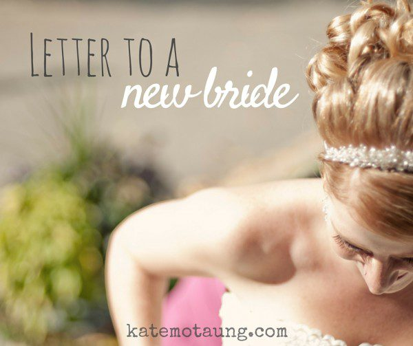 Letter to a new bride