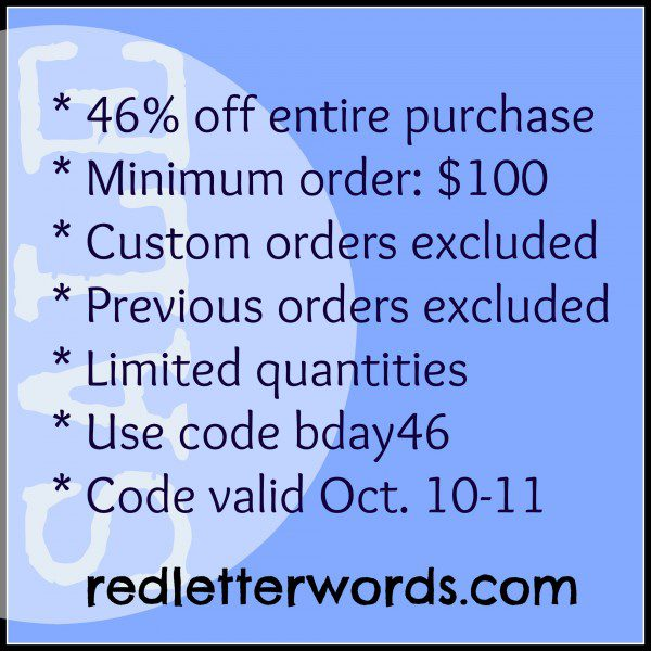 Red Letter Sale