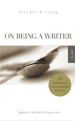 On Being a Writer - Cover