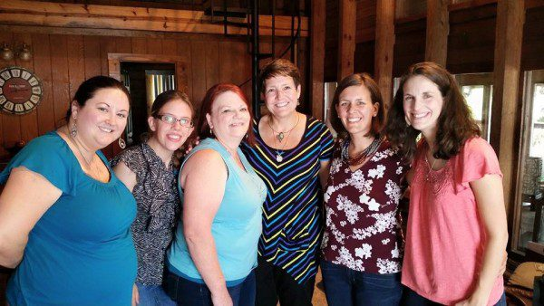 Jen is second from left in this photo. Photo Credit: Mollie Hardman, faithinplainsight.com