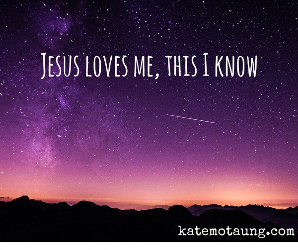Jesus loves me, this I know