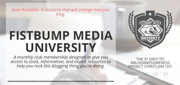 Fistbump Media University Ad