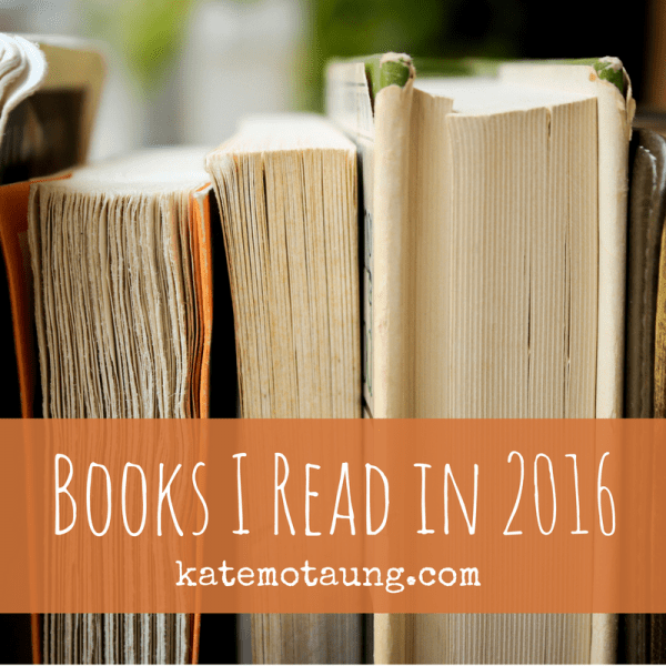 Books I Read in 2016