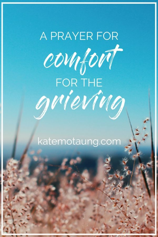 prayer for comfort